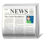 Image of newspaper icon