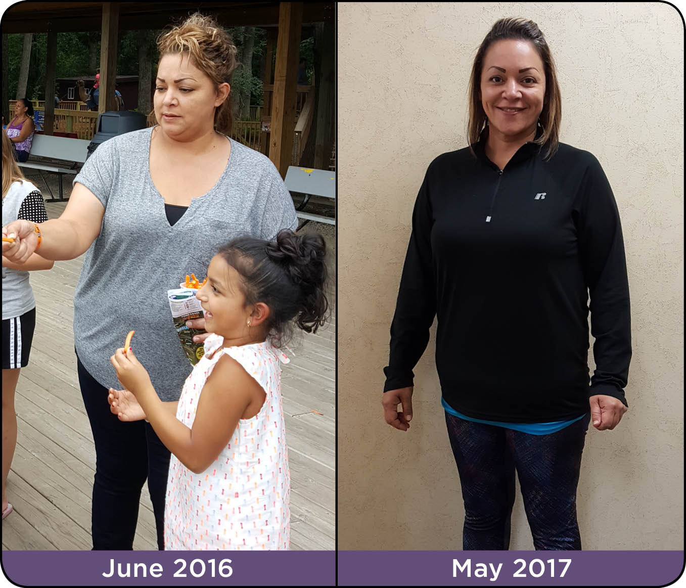 Jessica Salas Before and After Photos from Medical Weight Loss Program at Iowa Weight Loss Specialists