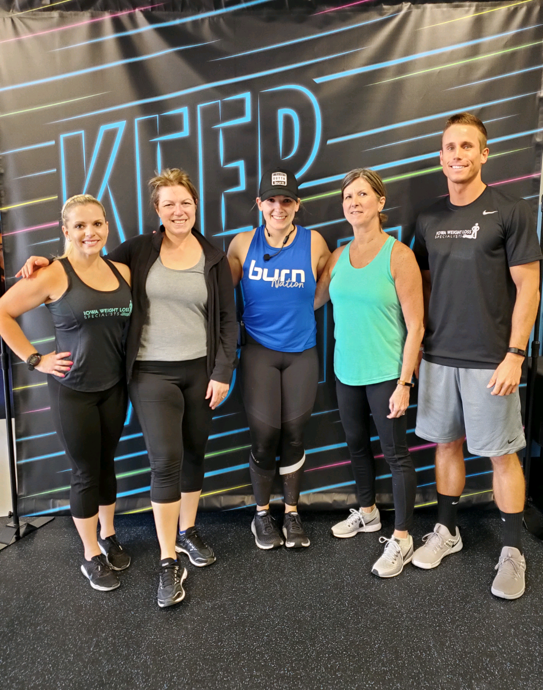 Group Fitness Picture at Burn Boot Camp